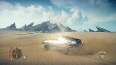 Mad Max_20181017204933 (Livid Lazan) Tags: mad max videogame playstation 4 ps4 pro warner brothers war boys dystopia australia desert wasteland sand dune rock valley hills violence motor car automobile death race brawl scenery wallpaper drive sky cloud action adventure divine outback gasoline guzzoline dystopian chum bucket black finger v8 v6 machine religion survivor sun storm dust bowl buggy suv offroad combat future