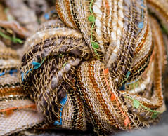 Playing with knots (risaclics) Tags: knot bad crinkledknotsmileonsaturday60mm macrofolded or creased nikond610 october2018 textiles knotsobad crinkledknotsmile saturday60mm