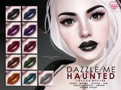 [PF] Dazzle Me Lipsticks - HAUNTED (Mochi Milena) Tags: pink fuel lipstick cosmetics catwa lelutka laq omega akeruka genus
