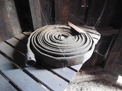 Inside The Hose House (nhhydrants) Tags: shelburne falls massachusetts hosehouse hose mill