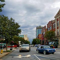 Asheville, North Carolina, USA (pom'.) Tags: panasonicdmctz101 july 2018 northcarolina usa unitedstatesofamerica america northamerica appalachia appalachianmountains asheville buncombecounty car vintagecar oldtimer 100 200