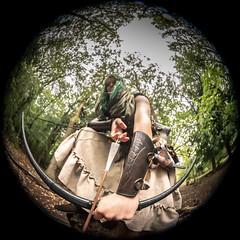 "(Lee ""Pulitzer"" Pullen) Tags: bristol nikond810 leighwoods larp liveactionroleplay empire navarr archer archery bowandarrow reenactment woods forest cosplay nikonafsfisheyenikkor815mmf3545eed"