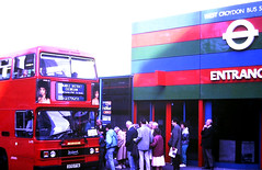 Slide 122-41 (Steve Guess) Tags: west croydon surrey england gb uk bus wandle district london transport buses leyland olympian dualpurpose semicoach excursion l170 d170fym