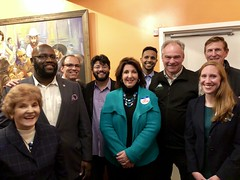 "Alexandria Dems GOTV rally 2018 • <a style=""font-size:0.8em;"" href=""http://www.flickr.com/photos/117301827@N08/44950454985/"" target=""_blank"">View on Flickr</a>"
