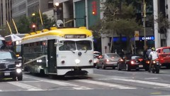 (sftrajan) Tags: streetcar tram muni marketstreet sanfrancisco hsc trolley tranvia transport fline california