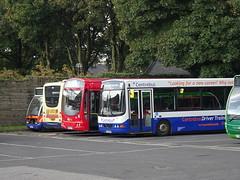 High Peak oddments Dove Holes (Guy Arab UF) Tags: high peak dove holes bus depot derbyshire centrebus wellglade buses 744 yj54cen vdl sb200 wright commander 697 fn04htc scania l94ub solar hulleys 3 yn08jwy man 12240 plaxton centro yj54btv