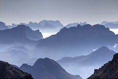 Backligh Dolomites (Seba.it) Tags: dolomites dolomiten dolomiti mountains montagna montagne montagnes altoadige sudtirol trentino trekking flickr canon italy italia sella alpen alps alpi orianosebastiani