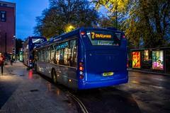 The new & the old (mangopearuk) Tags: uk unitedkingdom england hampshire southampton citycentre publictransport transit publictransit bus buses blue