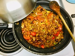 Carne con chile (veggie of course!) (Robert_Ross28d) Tags: quorn food meal mexican mexicana day spicy piquanté peppers dinner beans chilli mushrooms comida como