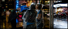 """Rainy Night Wanderers"" (36D VIEW) Tags: helios81h a7rii mirrorless vintage prime a7rm2 sony night street"