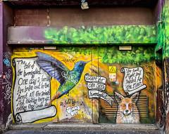 20181003-IMG_3874 Foxy (susi luard 2012) Tags: brighton street fox graffiti middle streetart uk
