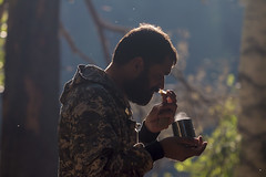 the good morning (Sergey S Ponomarev) Tags: sergeysponomarev canon eos 70d morning sunrise portrait people human nature coffee breakfast backlit russia russie russland north nord 2018 august ef70200f4lisusm bokeh trees forest trip travel tourism rafting tour journey adventure сергейпономарев портрет утро завтрак кофе россия европа архангельск свет рассвет туризм путешествие рафтинг кожа река сплав river