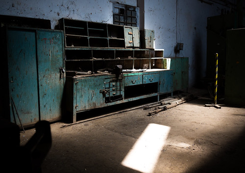 Abandoned workshop inside the ethio-djibouti railway station, Dire dawa region, Dire dawa, Ethiopia