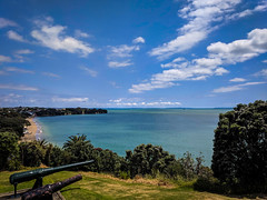 Auckland - North Head (Ry W) Tags: 2017 aotearoa auckland backpacking beach cannon cheltenham devonport googlepixel landscape newzealand northhead northisland ocean pixel sea travel