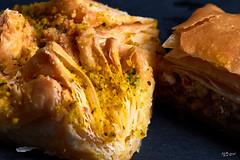 Blätterteig (puff pastry) (E.Wengel) Tags: macromondaysbfood macromonday bfood canon70d macro 100mm blätterteig baklawa flickr