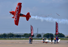 Oracle Challenger III (DPhelps) Tags: kafw afw alliance fort worth texas air show vapor airshow jet airplane plane aircraft bell 2018 clouds sdt sean d tucker team oracle challenger iii n260hp aerobatics biplane