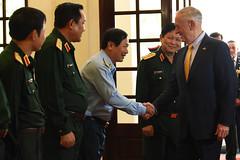 181017-D-BN624-0269 (Secretary of Defense) Tags: ussecretaryofdefensejamesnmattis jamesmattis jimmattis secretaryofdefense dod secdef vietnam vietnameseministerofnationaldefensengoxuanlich hochiminhcity