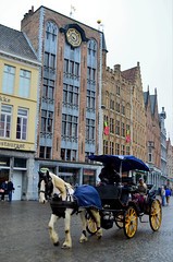 The best way to explore Bruges (Valantis Antoniades) Tags: the best way explore bruges brugge belgium horse coach ride architecture