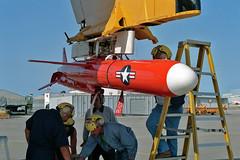 BQM-74E target drone (skyhawkpc) Tags: aviation rdte officialusnavy 1992 570496 dc130a hercules nasptmugu pmtc dvic navalairwarfarecenterweaponsdivision vancevasquez navy usn naval aircraft airplane usnavy ca bq38000 bqm74e nawcwd pacificmissiletestcenter