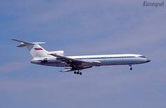 RA-85789 Tupolev 154 Kaliningrad Avia (@Eurospot) Tags: kaliningradavia ra85789 tupolev tu154 lebl barcelone elprat