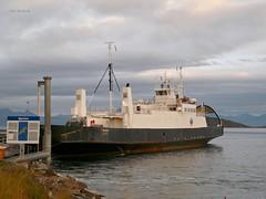 """Røsund"" (OlafHorsevik) Tags: røsund torghattennord thn ferge ferga ferry ferja ferje reserveferge toppsundet bjørnerå stornes"