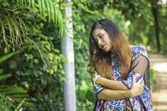 Shobnom (Mobarak Faisal) Tags: poses mode model nature green nikon sony bangladesh dhaka asia photoshoot women potrait girls outdoor