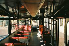 Interni (maximilian91) Tags: inbuss210ft inbuss210 inbus oldbuses vintagebuses italianbuses italia italy liguria laspezia ektar100 35mm analogue nikonfe