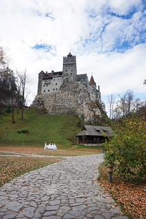 Autumn at Bran Castle, Romania