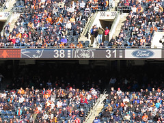 38 to 31. bears vs patriots (timp37) Tags: soldier field chicago illinois october 2018 38 31 score scoreboard nfl football game bears patriots crowd ford