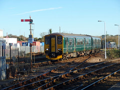 150265 St Erth (Marky7890) Tags: gwr 150265 class150 sprinter 2a10 sterth railway cornwall cornishmainline train
