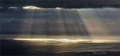 Harp Music At La Palma (Hans van Bockel) Tags: 70300mm d7200 hansvanbockel lapalma lightroom nikon oceaan tamron tazacorte tijarafe vakantie canarias spanje es eiland island canarian seaview ocean harp zonneharp clouds wolken stralen water