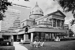 Cathedral Basilica Saints Peter and Paul (David Swift Photography) Tags: davidswiftphotography pennsylvania philadelphia churches architecture historicbuildings historicchurches napoleonlebrun johnnotman centercityphiladelphia historicphiladelphia 35mm nikonfm2 ilfordxp2