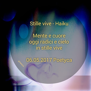 Stille vive – Haiku
