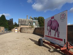 Pink Elephant (Brian Cairns) Tags: susrans roslin bonnyrigg lasswade cycling rosslyn newcyclepath danderhall dalkeith brianbcairns irreverence levity serendipity