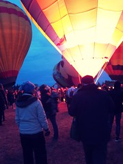 Balloonfest Albertabound (Mr. Happy Face - Peace :)) Tags: glow albertabound canada art2018 colorful community festival autum fall september glowing sky outdoors candid cans2s