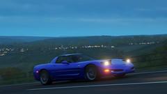 Chevrolet Corvette Z06 (polyneutron) Tags: car chevrolet corvette retro sportcar classics horizon motion colors