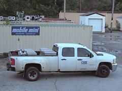 CSXT Chevrolet 3500HD Truck (Proto-photos) Tags: csx csxt 3500 hd heavyduty white extendedcab chevy chevrolet pickup truck vehicle mow maintenanceofway connellsville pennsylvania crewcab