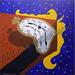 """Tick Tock"" by Sandy L, acrylic, $65.00"