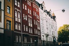 Norrköping (PhotographerJockeFransson) Tags: fujifilm xt20 35mm norrköping sweden building buildings red white green