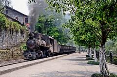 Huangunjin, Shibanxi, China (Yeovil Town) Tags: china railway narrowgauge shibanxi huangunjin cno14