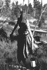 Upiór (kevin_grimes) Tags: the witcher 3 tw3 cd projekt red portrait black white bw spirit sky grass trees