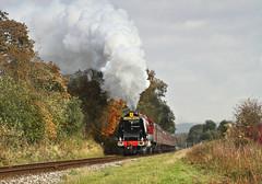 The Duchess At Irwell Vale  (1) (Neil Harvey 156) Tags: steam steamloco steamengine steamrailway railway 6233 duchessofsutherland irwellvale eastlancsrailway elr duchesspacific stanierpacific coronationclass lms stanier lmsred