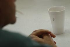 """An """"A"""" marks Allen Askew's cup of sweet tea."""
