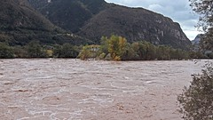Flooding of the Adige River (ab.130722jvkz) Tags: italy trentino atmosfericevents rivers adigevalley