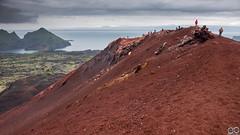 Eldfell volcano crater, Vestmannaeyjar, Iceland (Sascha Selli) Tags: leicam10 leica trielmar283550mmf4e55 iceland island eldfell vulkan vulcano krater crater westmännerinseln westmanislands vestmannaeyjar heimaey