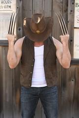 _WOL2413 (Socal Photography) Tags: xmen wolverine logan oldmanlogan patrickking andrewkolstad bts photoshoot nikon captainmarvel marvelcomics mutant marvel stunts stuntman western gambit oldwest cowboy puyallup fair statefair