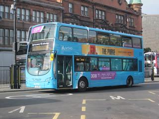 Arriva North East 7630 (YJ61 OBA). Haymarket, Newcastle