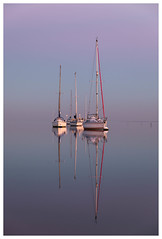 Tranquility (merseamillsy) Tags: coastal coast moore's boats sea water mersea seascape calm peaceful peace tranquility reflections yacht