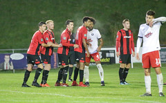 Lewes 2 Kings Langley 1 FAC replay 26 09 2018-495.jpg (jamesboyes) Tags: lewes kingslangley football nonleague soccer fussball calcio voetbal amateur facup tackle pitch canon 70d dslr
