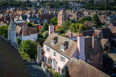 Rye, England from St. Mary's bell tower (Bob Radlinski) Tags: eastsussex england europe greatbritain rye uk fromstmarys travel theoldvicarage